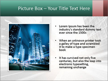 The light trails PowerPoint Template - Slide 13
