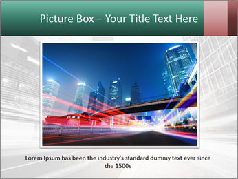 The light trails PowerPoint Template - Slide 16