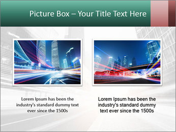 The light trails PowerPoint Template - Slide 18