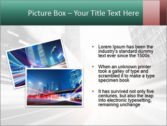The light trails PowerPoint Template - Slide 20