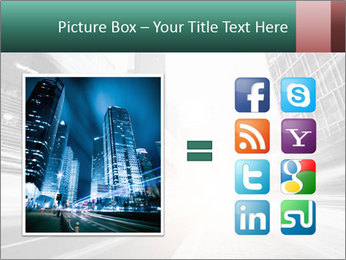 The light trails PowerPoint Template - Slide 21