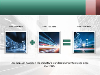 The light trails PowerPoint Template - Slide 22