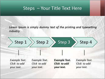 The light trails PowerPoint Template - Slide 4