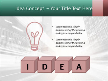 The light trails PowerPoint Template - Slide 80