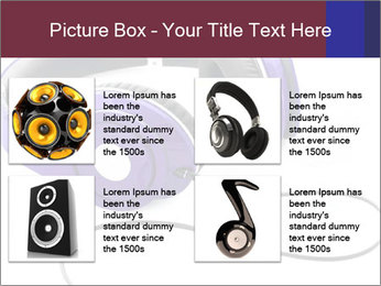 Headphones PowerPoint Template - Slide 14