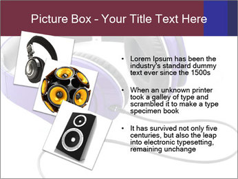 Headphones PowerPoint Template - Slide 17