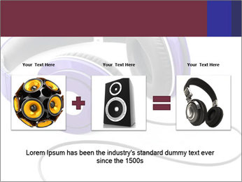 Headphones PowerPoint Template - Slide 22