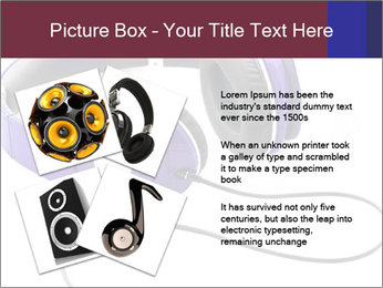 Headphones PowerPoint Template - Slide 23