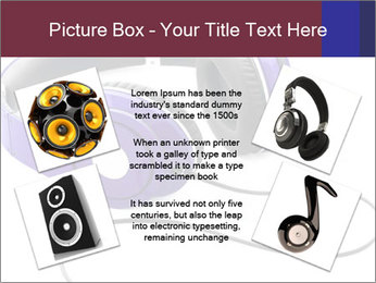 Headphones PowerPoint Template - Slide 24