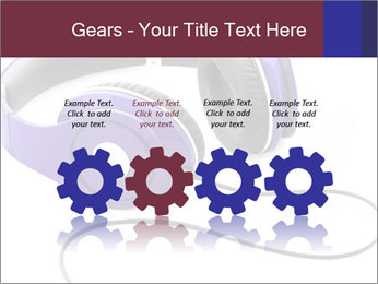 Headphones PowerPoint Template - Slide 48