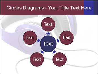 Headphones PowerPoint Template - Slide 78