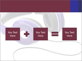 Headphones PowerPoint Template - Slide 95