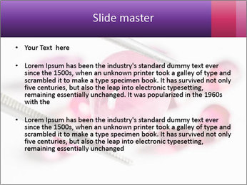 Ruby gemstone PowerPoint Template - Slide 2