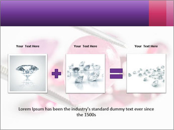 Ruby gemstone PowerPoint Template - Slide 22