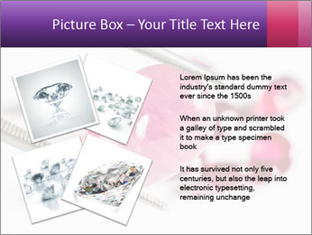 Ruby gemstone PowerPoint Template - Slide 23
