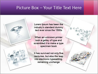 Ruby gemstone PowerPoint Template - Slide 24