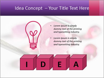 Ruby gemstone PowerPoint Template - Slide 80