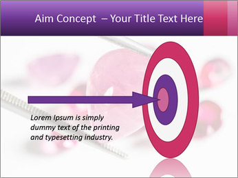 Ruby gemstone PowerPoint Template - Slide 83