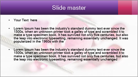 Ruby gemstone PowerPoint Template - Slide 2