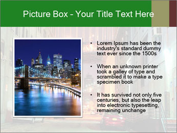 Brooklyn street PowerPoint Template - Slide 13