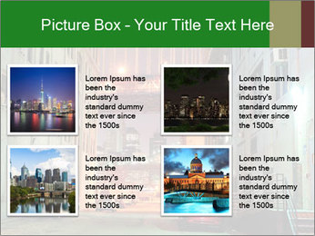 Brooklyn street PowerPoint Template - Slide 14