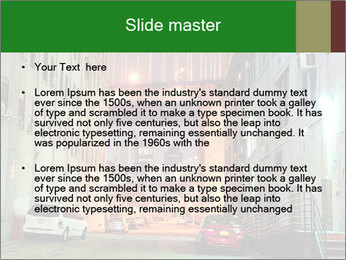 Brooklyn street PowerPoint Template - Slide 2