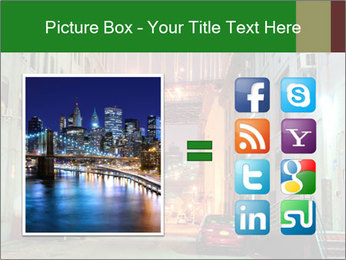 Brooklyn street PowerPoint Template - Slide 21