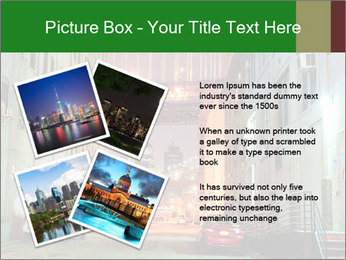 Brooklyn street PowerPoint Template - Slide 23