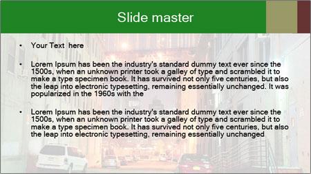 Brooklyn street PowerPoint Template - Slide 2