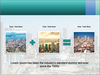 Downtown Miami PowerPoint Template - Slide 22