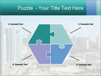 Downtown Miami PowerPoint Template - Slide 40