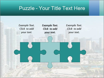Downtown Miami PowerPoint Template - Slide 42