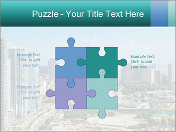 Downtown Miami PowerPoint Template - Slide 43