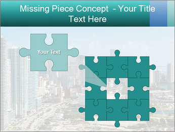 Downtown Miami PowerPoint Template - Slide 45