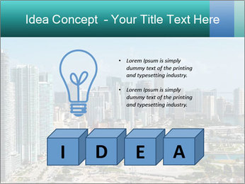 Downtown Miami PowerPoint Template - Slide 80