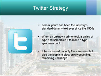 Downtown Miami PowerPoint Template - Slide 9