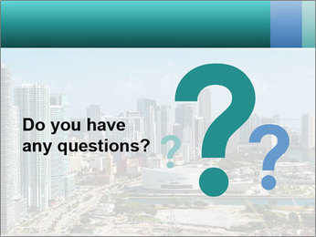 Downtown Miami PowerPoint Template - Slide 96