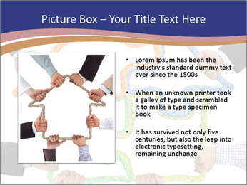 Hands holding puzzle PowerPoint Template - Slide 13