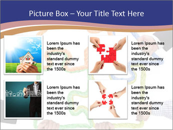 Hands holding puzzle PowerPoint Template - Slide 14