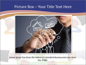 Hands holding puzzle PowerPoint Template - Slide 15