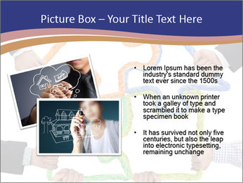 Hands holding puzzle PowerPoint Template - Slide 20