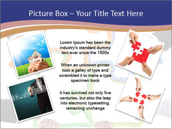 Hands holding puzzle PowerPoint Template - Slide 24