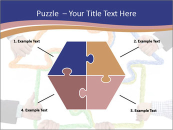 Hands holding puzzle PowerPoint Template - Slide 40