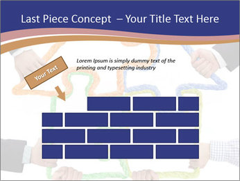 Hands holding puzzle PowerPoint Template - Slide 46