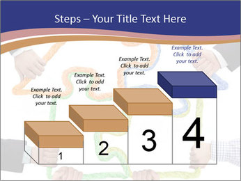 Hands holding puzzle PowerPoint Template - Slide 64