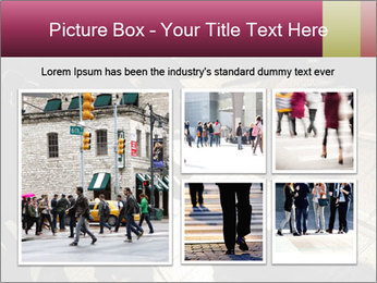 Shadows of people PowerPoint Template - Slide 19