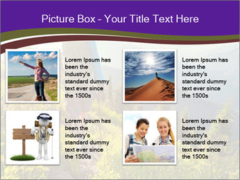 Summer mountains PowerPoint Template - Slide 14