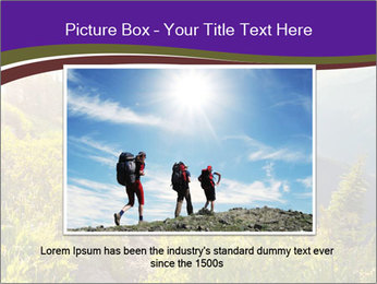 Summer mountains PowerPoint Template - Slide 16