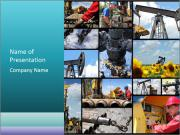 Oil And Gas Industry Modèles des présentations  PowerPoint