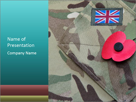 British army uniform powerpoint template backgrounds google british army uniform powerpoint template toneelgroepblik Images